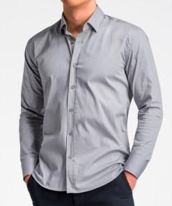 Camasa Ombre Clothing Men's regular shirt with long sleeves K505