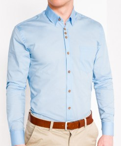 Camasa Ombre Clothing Men's elegant shirt with long sleeves K302