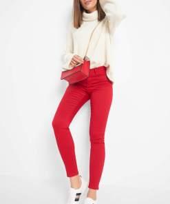 Pantaloni skinny Piros