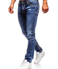 Blugi bleumarin straight leg Bolf KA1125