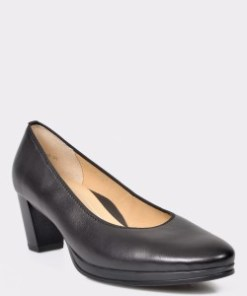 Pantofi ARA negri, 13436, din piele naturala