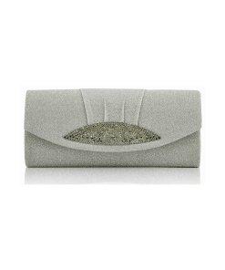 Clutch Sparkle grey