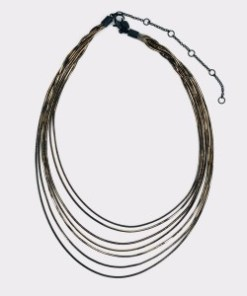 Colier ALDO negru, Focalaca970, din metal