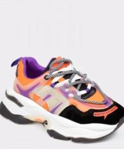 Pantofi sport FLAVIA PASSINI portocalii, 99189, din piele naturala