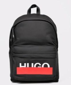 Rucsac HUGO BOSS negru, 2702, din material textil