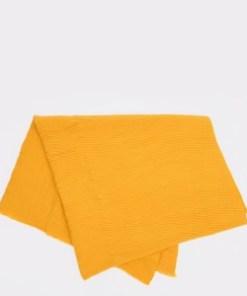 Esarfa ALDO galbena, Zeiler701, din material textil