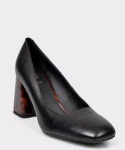Pantofi GEOX negri, D94ERA, din piele naturala