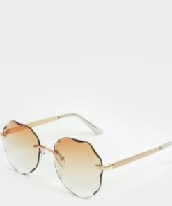 Ochelari de soare ALDO aurii, Abarelia741, din PVC