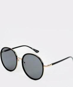 Ochelari de soare ALDO negri, Adriema001, din PVC