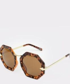 Ochelari de soare EPICA maro, 1803013, din PVC