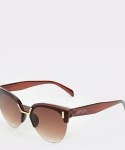 Ochelari de soare EPICA maro, 494368, din PVC