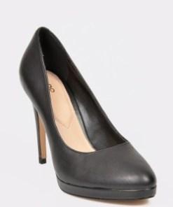Pantofi ALDO negri, Ibaoni, din piele naturala