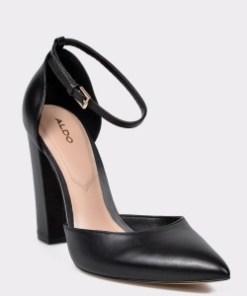 Pantofi ALDO negri, Nicholes, din piele naturala