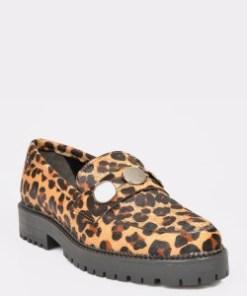 Pantofi ALDO maro, Trison, din piele naturala