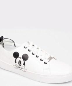 Pantofi sport ALDO albi, Meranemickey, din piele ecologica