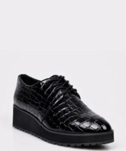 Pantofi ALDO negri, Lovirede, din piele ecologica