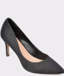 Pantofi ALDO negri, Coronigti, din material textil