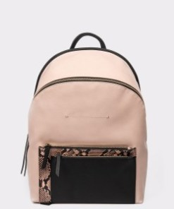 Rucsac CALL IT SPRING roz, VALE660, din piele ecologica