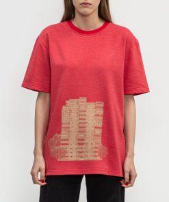 Tricou Reminiscente Tricou Rosu