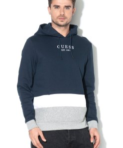 Hanorac regular fit cu captuseala de fleece
