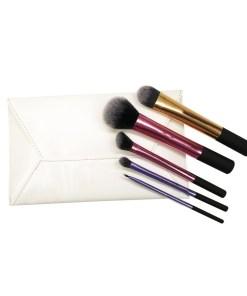 Set 5 pensule machiaj profesionale Perfect Gift + Borseta Cadou