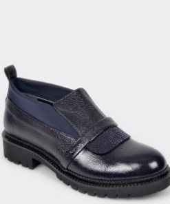 Pantofi FLAVIA PASSINI negri, BH151, din piele naturala lacuita