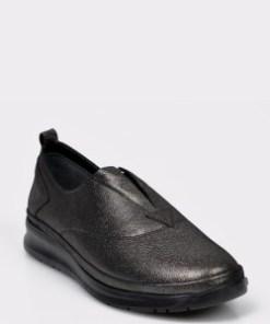 Pantofi FLAVIA PASSINI gri, RS5512, din piele naturala