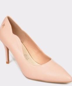 Pantofi MENBUR nude, 20901, din piele ecologica