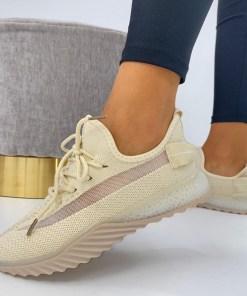 Adidasi Dama Textil Bej Reike B6867
