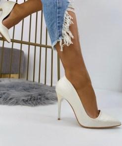 Pantofi Stiletto Dama Piele Ecologica Albi Penelope B6924