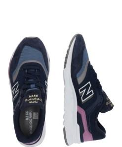 New Balance Sneaker low 'CW997 B' alb / albastru inchis / mov