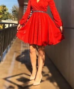 Rochie eleganta scurta Sofy 4