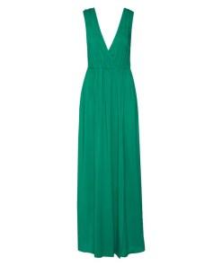 IVYREVEL Rochie de vară 'MAXI DRESS WITH SLIT' verde închis