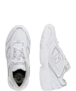New Balance Sneaker low 'WX452S' gri deschis / alb