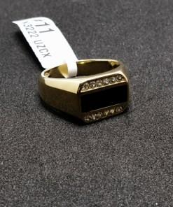 Inel placat cu aur Swing