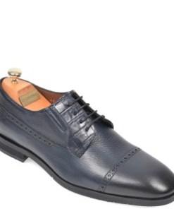 Pantofi LE COLONEL bleumarin, 48731, din piele naturala