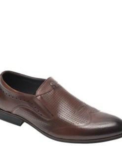 Pantofi OTTER maro, A824401, din piele naturala