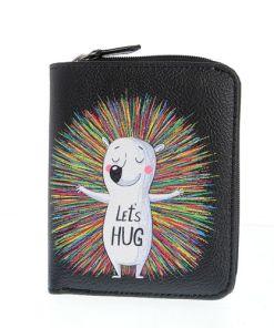 Portofel cu mesaj: Let's hug