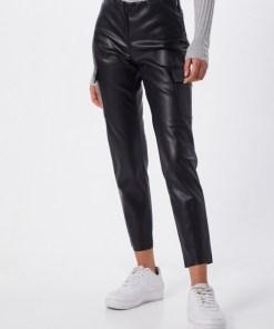 Noisy May Pantaloni 'NMSERAY NW ANKLE CARGO' negru