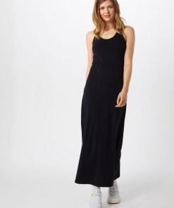 Urban Classics Rochie de vară 'Ladies Long Racer Back Dress' negru