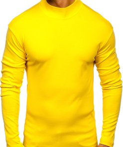 Helancă bărbați galbenă Bolf 145348