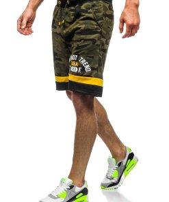 Pantaloni scurți trening kaki Bolf KK300152