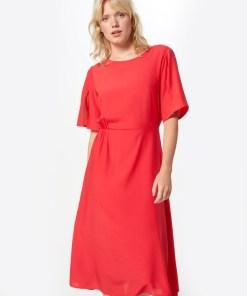 VILA Rochie de vară 'VIANTONIO 2/4 MIDI DRESS' roșu
