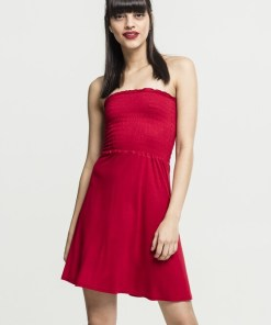 Urban Classics Rochie de vară roși aprins