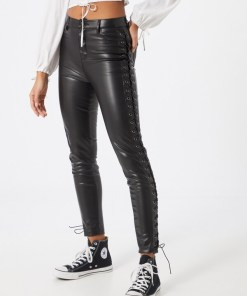 Worst Behavior Pantaloni negru