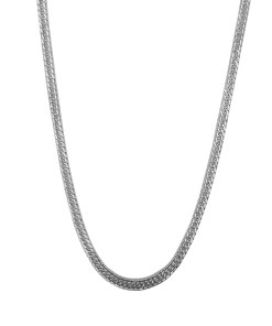 Lant barbati din argint, lungime 55 cm