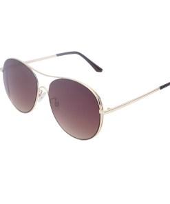 Ochelari de soare maro, pentru dama, Daniel Klein Trendy, DK4293P-2