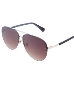 Ochelari de soare maro, pentru dama, Daniel Klein Trendy, DK4307P-2