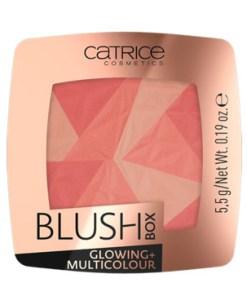 Fard De Obraz Catrice Blush Box Glowing + Multicolour 010