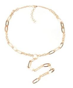 Colier ALDO auriu, Dowerin710, din metal
